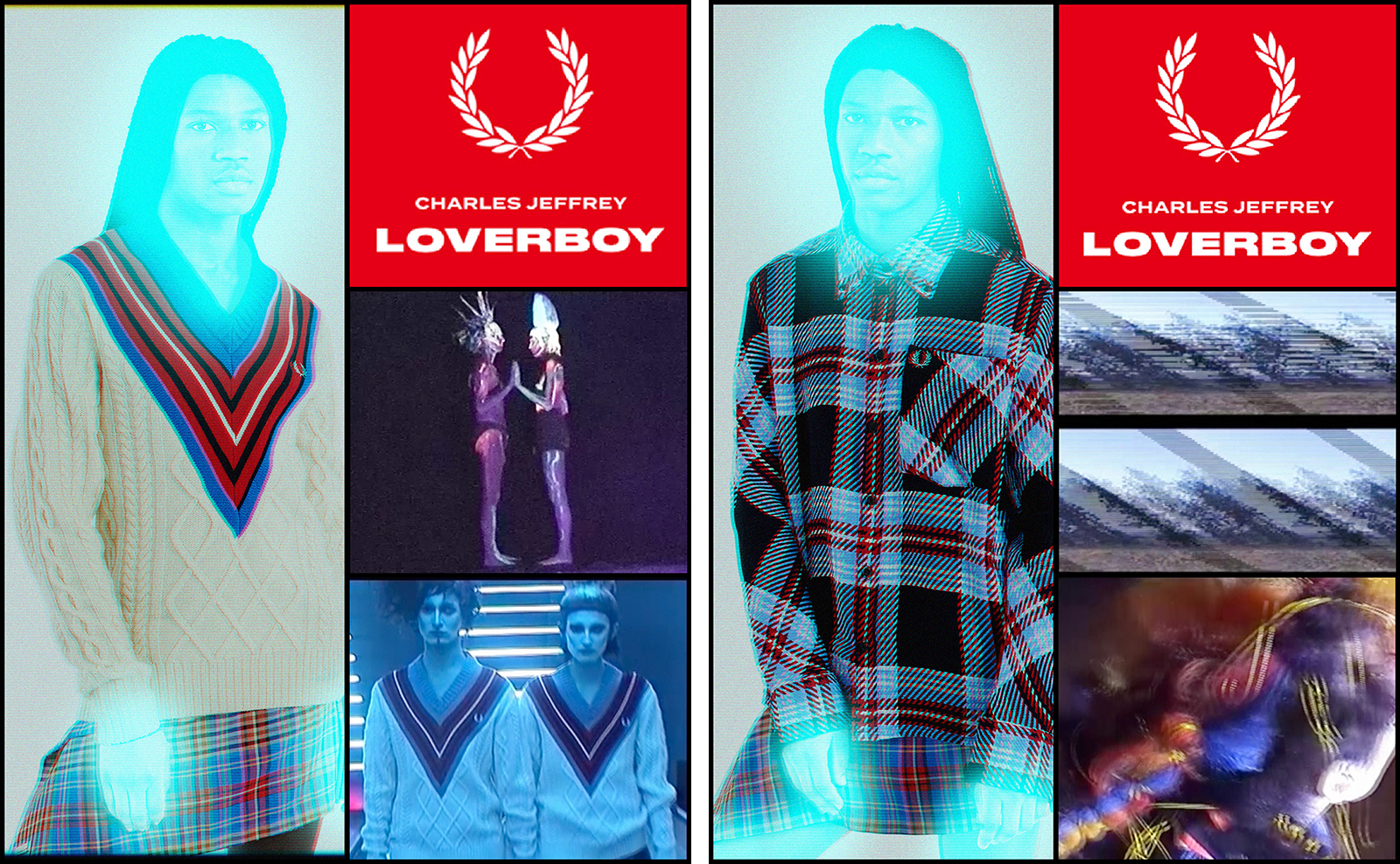 Fred Perry x Charles Jeffrey Loverboy